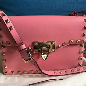 Valentino rockstud flap cross body